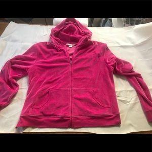Victoria's Secret Hot fuschia colored hoodie